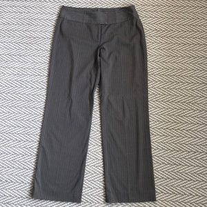 CAbi Brown Striped Dress Pants, Size 14
